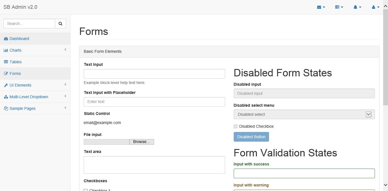 sb admin 2 bootstrap with ASP MVC – Lui\'s Blog